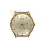 ヴィンテージ VINTAGE CAUNY PRIMA 腕時計 オートマチック アンティーク ANCRE 15 RUBIS LA CHAUX DE FONDS ゴールド 白文字盤