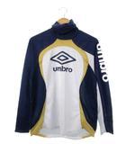 アンブロ UMBRO ウルトラハイネックシャツ 長袖 トップス サッカー フットサル ネイビー ライトグレー L