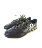 アディダス adidas エックス 16.3 IN LE BB4196 サッカーシューズ 靴 ブラック 26.0cm