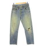 リーバイス Levi's 70's 501 66前期 オリジナル デニム パンツ ボタン裏6 スモールe 紙パッチ ジーンズ ヴィンテージ