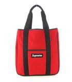 シュプリーム SUPREME 18AW Polartec Tote Bag ポーラテック トートバッグ 鞄 ボックスロゴ 赤 レッド ☆AA★