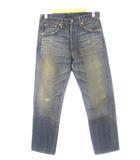 リーバイス ビンテージ クロージング LEVI'S VINTAGE CLOTHING 66501 501XX 日本製 復刻 デニム パンツ ビッグE ダブルネーム 加工 ジーンズ W34