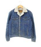 ラングラー WRANGLER デニムジャケット シェルパジャケット Gジャン ウエスタン 裏ボア 74255PW ブルー S
