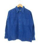 ヴィンテージ VINTAGE 60's WESTVALE コーデュロイシャツ コットン 日本製 長袖 ブルー L