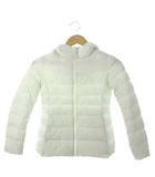 ユニクロ UNIQLO キッズ 中綿 ジャケット アウター 上着 子供服 ホワイト 130cm