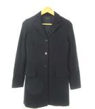 セオリー theory テーラードジャケット コート ウール混 アウター 上着 ブラック 2