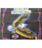 ハーレーダビッドソン HARLEY DAVIDSON バンダナ USA製 オフィシャル 鷲 モーターサイクル 黒 ブラック