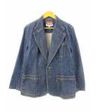 リーバイス Levi's 70's テーラードジャケット デニム オレンジタブ ヴィンテージ ブルー 42