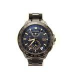 シチズン CITIZEN アテッサ エコドライブ 腕時計 クロノグラフ チタン ソーラー電波 H820-T020691 ウォッチ ブラック