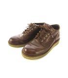 ハソーン HATHORN オックスフォード ブーツ レザー シューズ 靴 茶 ブラウン 7.5 D