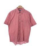 ラルフローレン RALPH LAUREN チャップス CHAPS ボタンダウンシャツ 半袖 トップス チェック レッド L