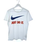 ナイキ NIKE JDI SWOOSH TEE Tシャツ 半袖 カットソー トップス ロゴ ホワイト M