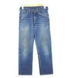 ラングラー WRANGLER 50's 11MWZ 縦ベル 刺繍タグ デニム パンツ CONMARジップ ヴィンテージ ジーンズ ブルー
