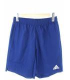 アディダス adidas ウーブンショーツ トレーニングパンツ サッカー フットサル ボトムス ネイビー L