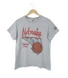 ナイキ NIKE 90's 銀タグ Tシャツ NEBRASKA バスケットボール USA製 半袖 グレー S