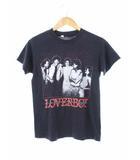 ヴィンテージ VINTAGE 80's ラヴァーボーイ LOVERBOY バンドTシャツ ツアーTシャツ TOUR'86 USA製 ネイビー M