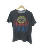ヴィンテージ VINTAGE ブラックサバス BLACK SABBATH 80's バンドTシャツ ツアーTシャツ ワールドツアー USA製 L