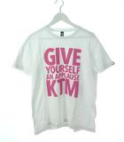 KTM ケツメイシ 2011 ライブツアー Tシャツ 両面プリント GIVE YOURSELF AN APPLAUSE M