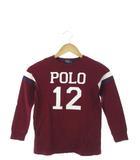 ポロ バイ ラルフローレン Polo by Ralph Lauren キッズ ロンT Tシャツ 長袖 カットソー トップス プリント 子供服 ボルドー 120cm