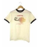 ウエアハウス WAREHOUSE Tシャツ HORSEPOWER リンガーTシャツ 半袖 S