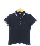 ポールスミスジーンズ Paul Smith JEANS ポロシャツ 半袖 カットソー トップス ラビット 刺繍 ブラック M