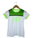 ニューバランス NEW BALANCE ビッグロゴ プラクティス Tシャツ 半袖 トップス テニス ホワイト M