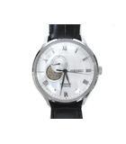 セイコー SEIKO 腕時計 プレサージュ 4R39-00W0 自動巻き 裏スケルトン ホワイト
