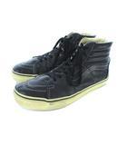 バンズ VANS スケートハイ SK8-HI ハイカット スニーカー レザー 靴 シューズ ブラック US10