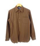 ペンドルトン PENDLETON 70's 80's ウールシャツ USA製 ヴィンテージ 茶 ブラウン S