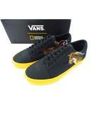 バンズ VANS × ナショナル ジオグラフィック オールドスクール NATIONAL PHOTO スニーカー 靴 ブラック 26