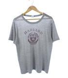 チャンピオン CHAMPION 80's トリコタグ Tシャツ HARVARD プリント USA製 ヴィンテージ グレー XL