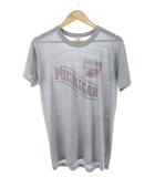 チャンピオン CHAMPION 80's トリコタグ Tシャツ MICHIGAN プリント USA製 ヴィンテージ グレー L