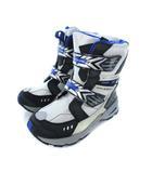 ムーンスター MoonStar ギガフラッシュ GIGAFLASH ウィンターブーツ スノーブーツ 子供靴 シューズ シルバー 24.0cm