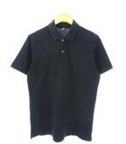 ユニクロ UNIQLO ポロシャツ 半袖 トップス ブラック L