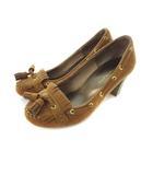 オリエンタルトラフィック ORIENTAL TRAFFIC タッセル パンプス 靴 シューズ ブラウン 35