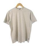 ムーンストーン Moonstone USA製 Tシャツ カットソー USA製 無地 ベージュ S