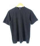 ムーンストーン Moonstone USA製 Tシャツ カットソー USA製 無地 チャコールグレー S