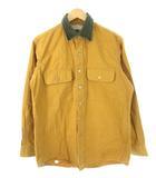 エルエルビーン L.L.BEAN 80's ハンティングシャツ USA製 コットンキャンバス ヴィンテージ キャメル M