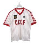 アディダス adidas 旧ソ連 ロシア レプリカ ユニフォーム サッカー CCCP 1982年 ワールドカップスペイン大会 M