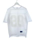 モンキータイム MONKEY TIME アローズ フットボール Tシャツ ナンバリング プリント 白 ホワイト S