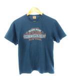 デラックスウエア DELUXEWARE Tシャツ 両面プリント クルーネック M