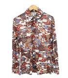 ヴィンテージ VINTAGE 70's ケニントン KENNINGTON ディズニー ミッキー 総柄 シャツ ポリシャツ ディスコシャツ M