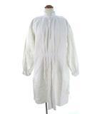 ヴィンテージ VINTAGE 1900's 10's 20's フランス アンティーク シャンブルリネン スモックシャツ ワンピース フレンチ