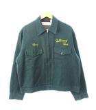 ヴィンテージ VINTAGE 50's 60's UNKNOWN ウィップコード ワークジャケット 刺繍ロゴ TROY ブランケットライナー 42