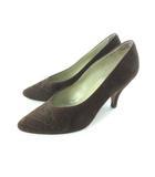 ニナリッチ NINA RICCI パンプス スウェード 靴 シューズ ブラウン 351/2