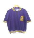チャンピオン CHAMPION 60's ランタグ Tシャツ インディアン アーチロゴ TALONジップ オリジナル ヴィンテージ パープル L