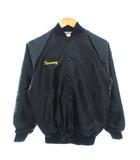 ヴィンテージ VINTAGE 80's Wear Guard スタジャン 刺繍ロゴ USA製 ブラック XS