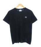 エム&エム M&M ポケット Tシャツ 刺繍ロゴ バックプリント ブラック M