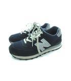 ニューバランス NEW BALANCE スニーカー 靴 M574NN ネイビー グレー 26.0cm