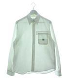 ササフラス SASSAFRAS ボタンダウン ワークシャツ トップス ホワイト S
